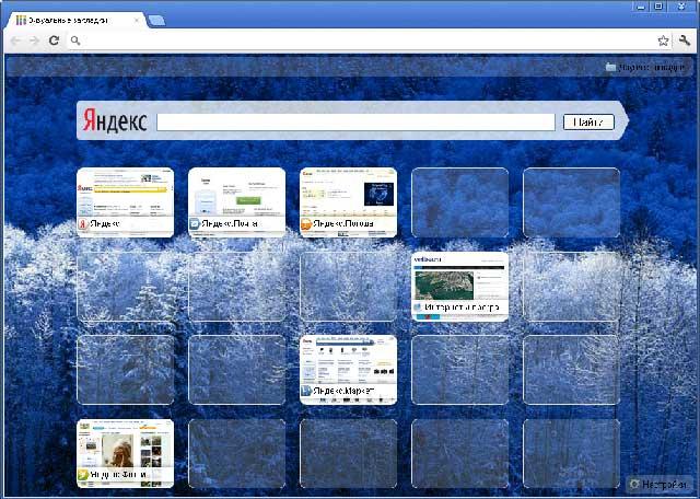 Визуальные закладки для Chrome